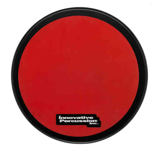 Innovative Percussion RED GUM RUBBER PAD WITH BLACK RIM