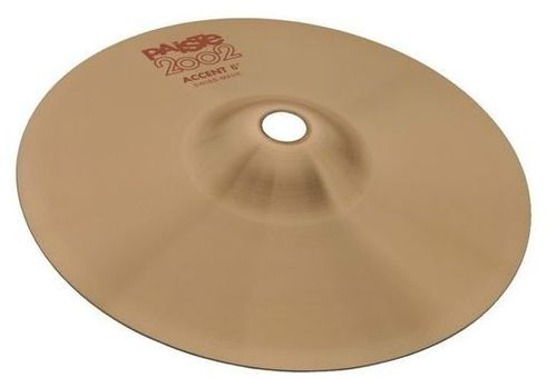 "Paiste Cymbales 8"" Accent 2002"