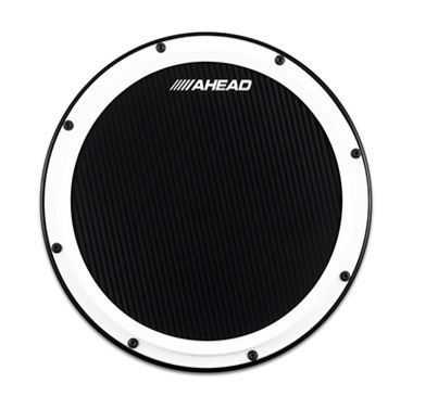 "Ahead 14"" WHITE S-HOOP MARCHING PAD"
