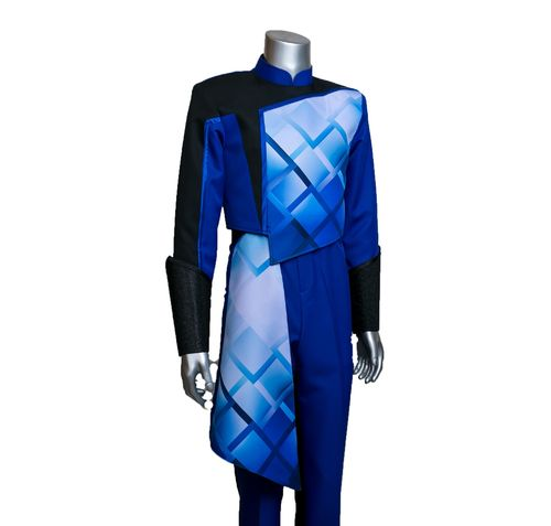 Blue Uniforme Graphic