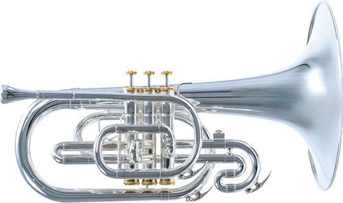 System Blue Traditional Mellophone